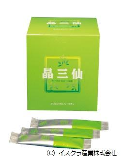 晶三仙 (60包) 【健康食品】